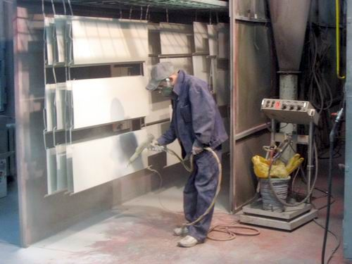 Покраска металлических конструкций своими руками